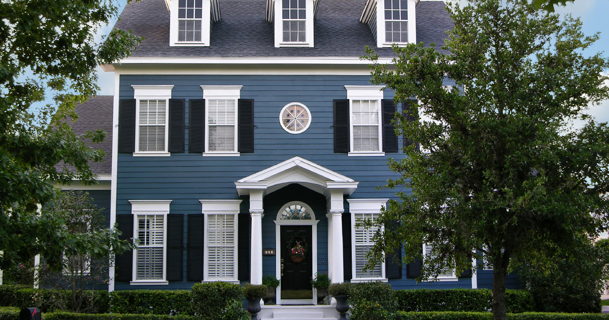 Mitten - Blue House