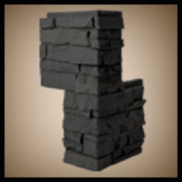 Stacked Stone Corner