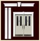 DK301 Plain Door Kit