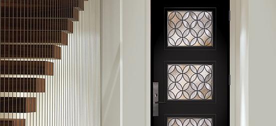 Série de portes modernes