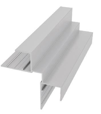 Moulure LAP carrée en 1 pièce pour coin intérieur