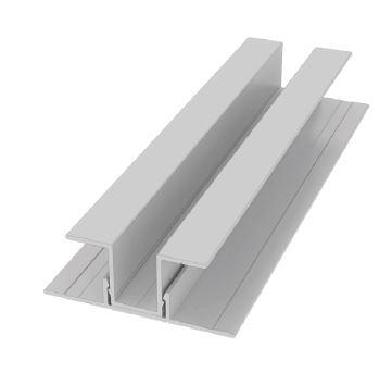 Moulure LAP en U verticale en 2 pièces