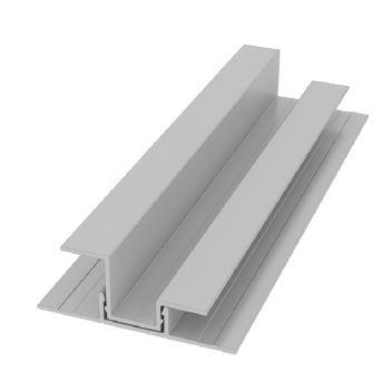 Moulure de transition en U verticale en 2 pièces